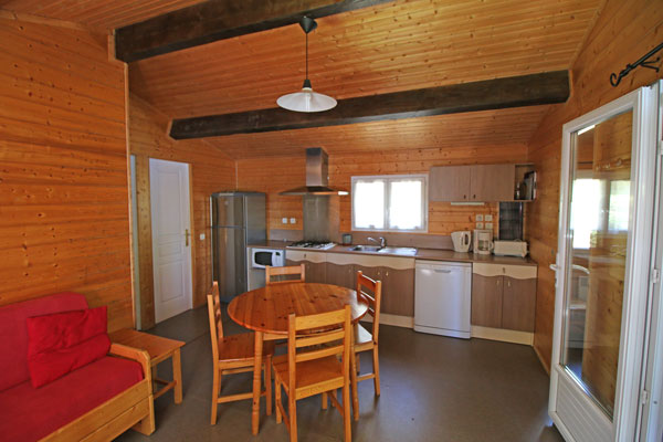 Holiday rentals chalets Lac des Settons - Morvan - Camping Chalets ...