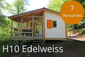 Chalet lac des settons H10 Edelweiss 7 places