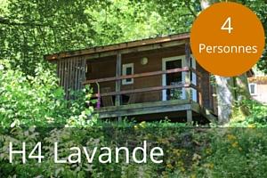 Chalet lac des settons H4 Lavande 4 places