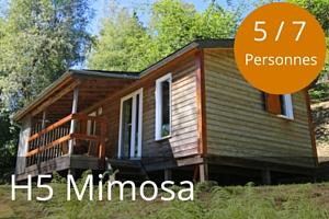 Chalet lac des settons H5 Mimosa 5 a 7 places