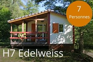 Chalet lac des settons H7 Edelweiss 7 places