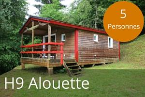 Chalet lac des settons H9 Alouette 5 places